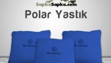 Mavi Polar Yastık