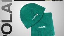Promosyon Polar Atkı Bere Yeşil