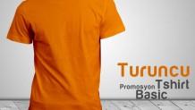 Promosyon T-Shirt Turuncu