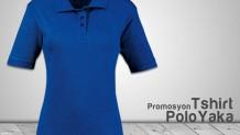 Polo Yaka Bayan T-Shirt Lacivert