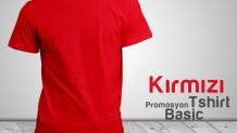 Promosyon Tişört Kırmızı