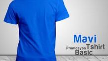 Promosyon T-shirt Mavi