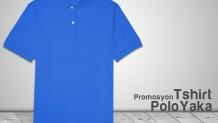 Promosyon Polo Yaka Tshirt Mavi