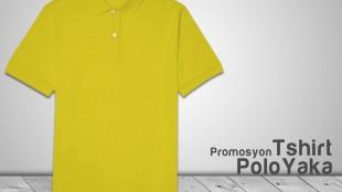 Promosyon Polo Yaka T-shirt Sarı