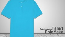 Promosyon Polo Yaka T-shirt Turkuaz