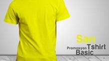 Promosyon T-Shirt Sarı
