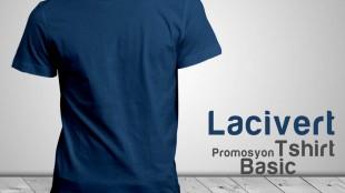 Promosyon T-Shirt Lacivert