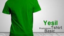 Promosyon T-Shirt Yeşil