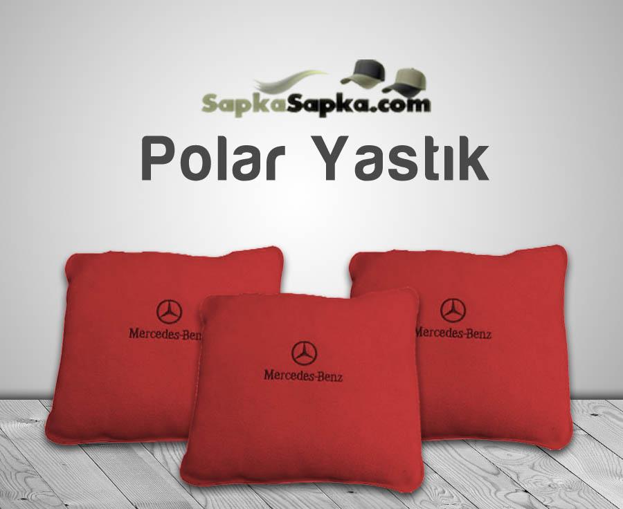 Kırmızı Polar Yastık