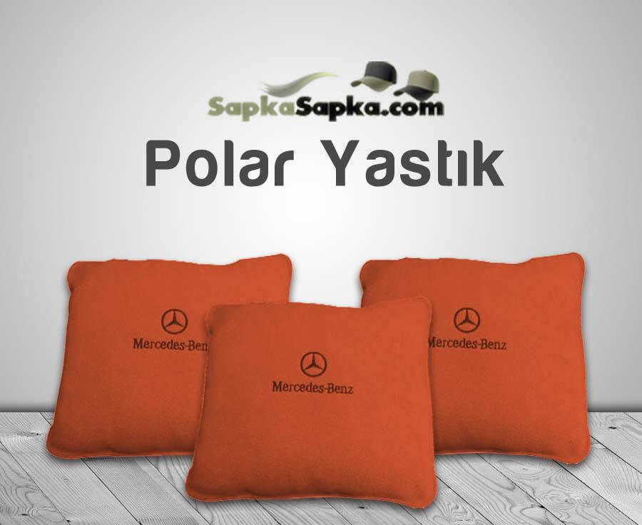Turuncu Polar Yastık