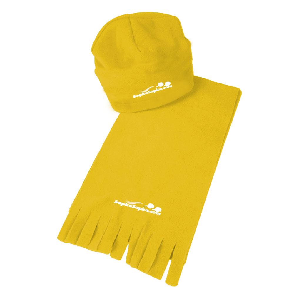 Polar Atkı Bere Sarı
